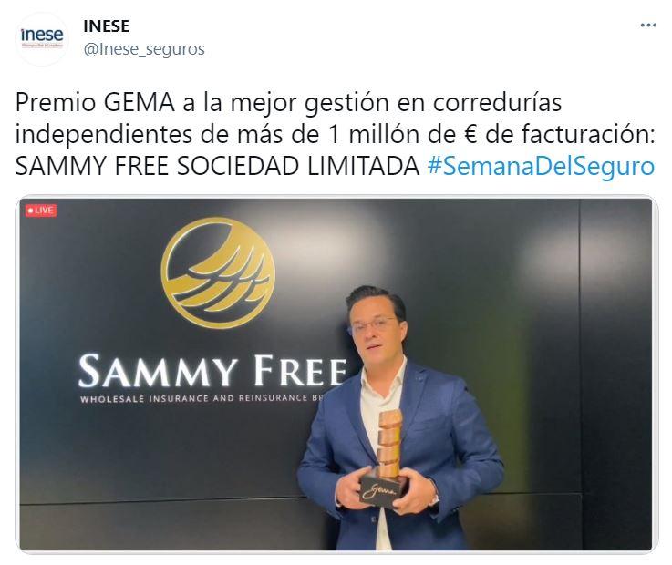 sammy free premio gema
